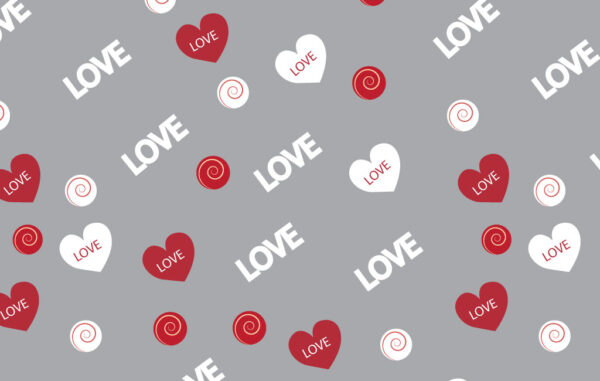 Love Seamless Pattern Free Download