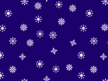 Snowflakes Seamless Pattern Free Download