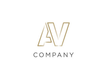 AV Golden Logo Free Download