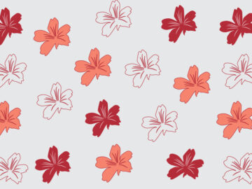 Colorful Flowers Seamless Pattern Free Download