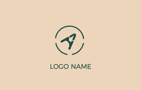 Letter A In A Circle Logo Free Download