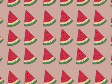 Watermelon Seamless Pattern Free Download