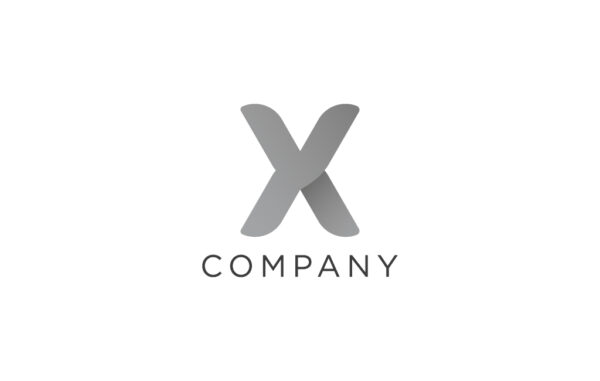 X Letter Logo Design Free Download