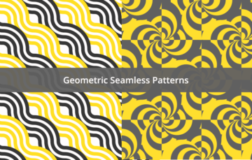Two Geometric Seamless Patterns Free Download