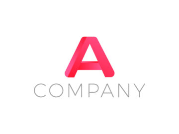 Red Letter A Logo Free Download
