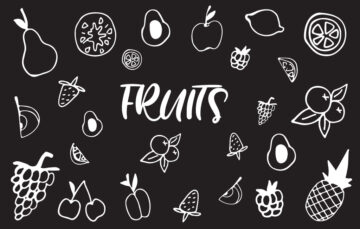 Vector Background Fruits Free Download
